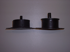 RV8 Style Engine Rubber Mountings (pair)